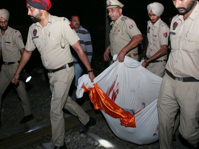 Amritsar train tragedy: Train driver detained, questioned