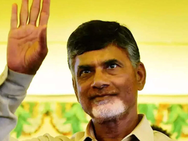 Telugu Desam Party president N Chandrababu Naidu turns to Hindutva to stay relevant