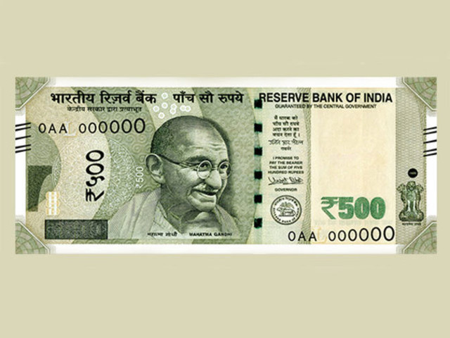Security features of a genuine Rs 500 currency note