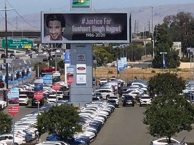 Sushant Singh Rajput Suicide: कैलीफॉर्निया में लगे सुशांत सिंह राजपूत के जस्टिस के लिए बोर्ड, बहन शेयर किए वीडियो