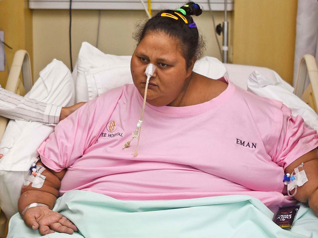 Egyptian Eman Ahmed, once 'world's heaviest woman', dies in Abu Dhabi