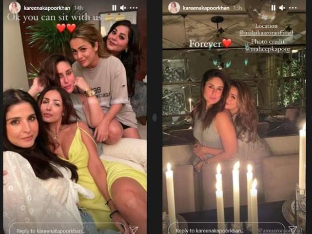 Kareena Kapoor ने अपनी गर्ल गैंग के साथ ऐसे स्पैंड की संडे नाइट, देखें पार्टी की फोटोज़