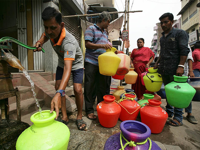Hotels, firms cut back on water use as taps run dry in India's Chennai