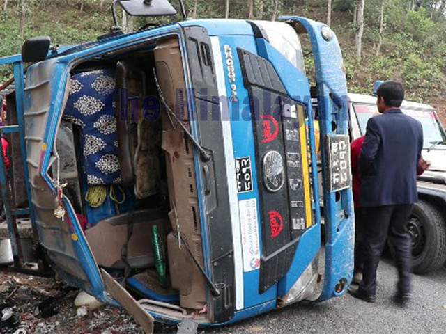 At least six killed, dozens injured in Dhading truck accident