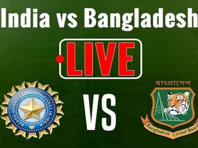 INDvsBAN LIVE : बांग्लादेश को 42 रन पर तीसरा झटका, 3 बल्लेबाज लौटे पवेलियन