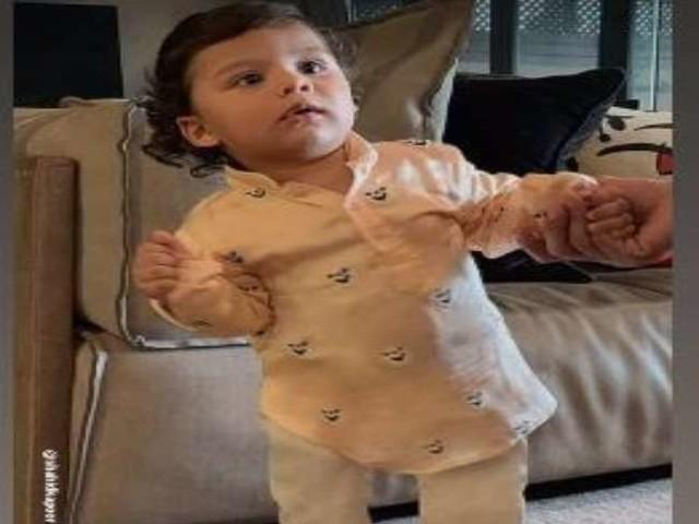 Mira Rajput Kapoor ने शेयर की बेटे जैन कपूर की तस्वीर, ट्रेडिशनल ड्रेस में दिखा क्यूट लुक