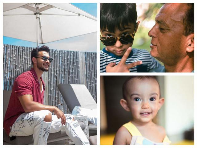 Aayush Sharma's B'Day getaway with family