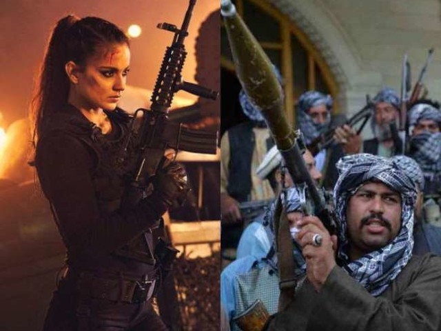 Taliban को लेकर कंगना रनोट ने ट्विटर पर कसा तंज, धाकड़ एक्ट्रेस कहा- मुझे बैन कर दिया, अब तालिबानी...