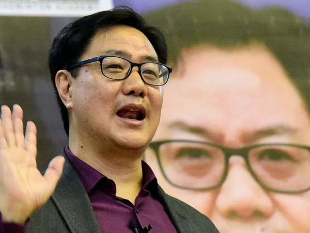 Infra upgrade in mind, Kiren Rijiju calls conference of state law ministers