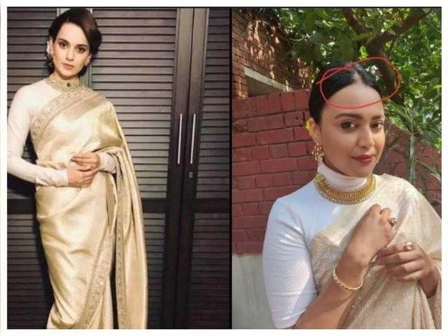 Kangana teases Swara with a 'Crass' meme