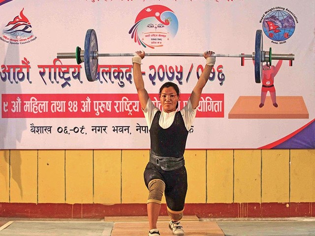 Chhantyal wins silver for 14-month baby