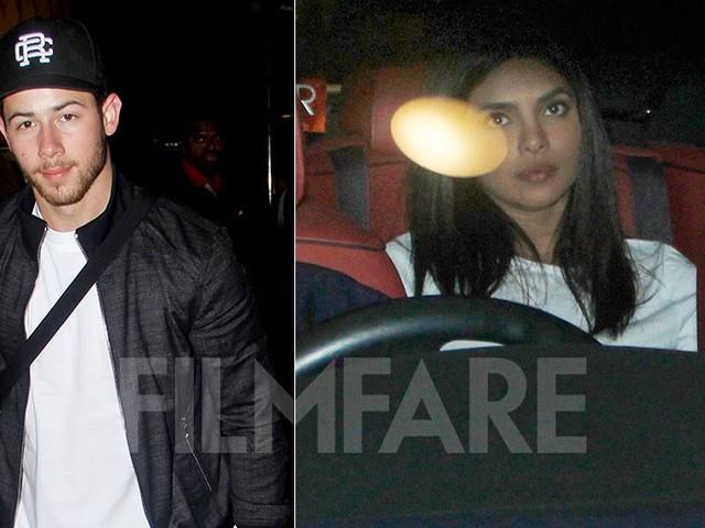 Priyanka Chopra sees off Nick Jonas at the Mumbai airport