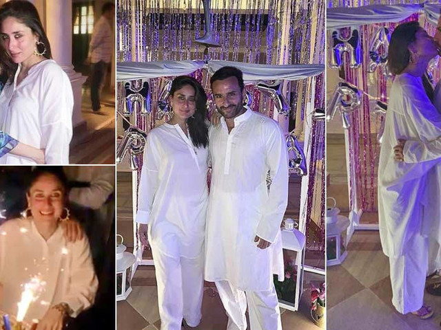 Taking you inside Kareena Kapoor Khanâs 39th birthday bash