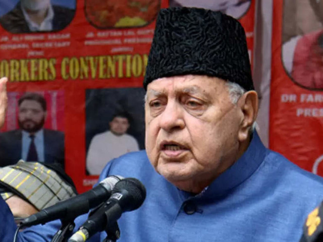 Volcano building up in Jammu and Kashmir, celebrations over Pakistan win meant to provoke BJP: Farooq Abdullah