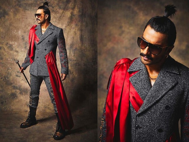 Pics: Ranveer is B'town's ultimate fashionista