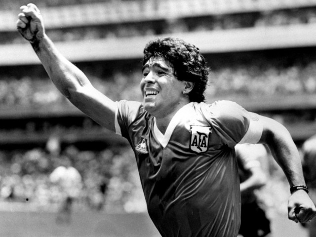 In pictures: Goodbye Maradona!