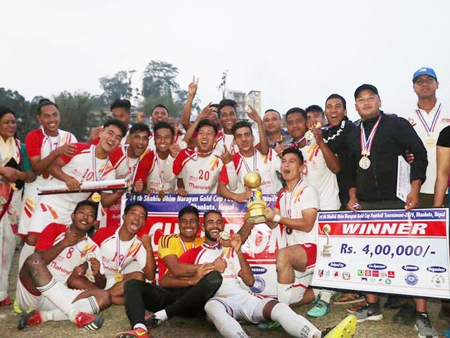 Nepal APF Club defeat Dauphins in final