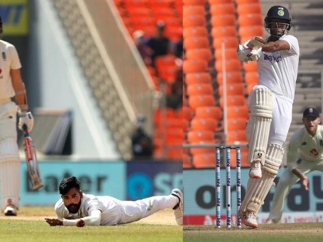 INDvsENG : इंग्लंडची पुन्हा रडत-खडत सुरुवात; टीम इंडिया डावानं मॅच मारण्याची चिन्हे