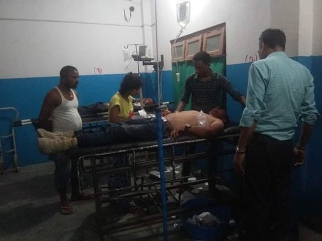 2 killed, 25 injured in Siraha bus-truck collision