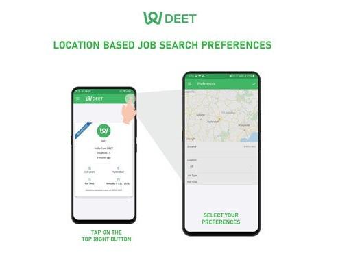 Get job alerts with DEET