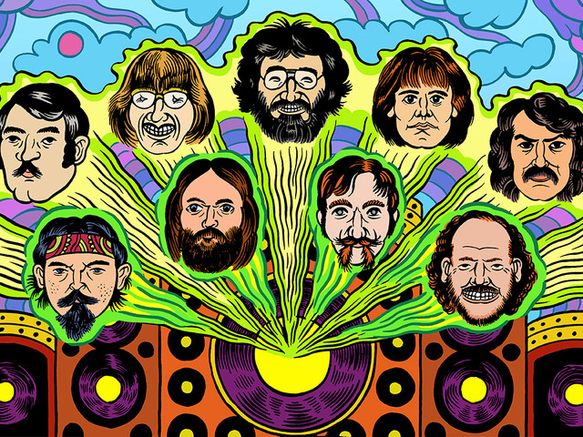 Grateful Dead Graphic Novel to Come Out in 2020