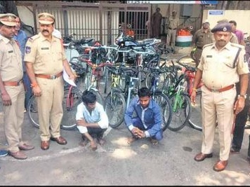 Bicycle thefts on the rise in Hyderabad