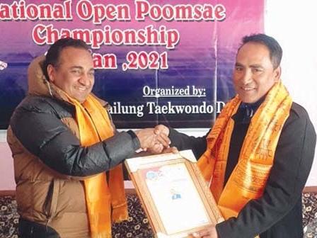 Gurung wins gold