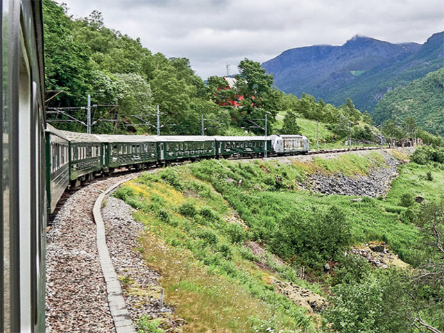 Explore the world on wheels! The most picturesque train journeys across the globe