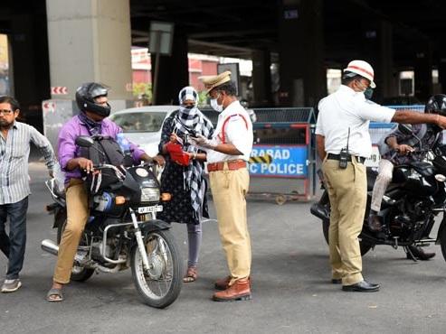 Over-speeding top traffic rule violation in Telangana