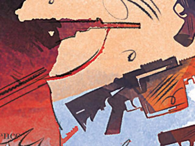 Lt Col accused of possessing pistols, grenade launcher
