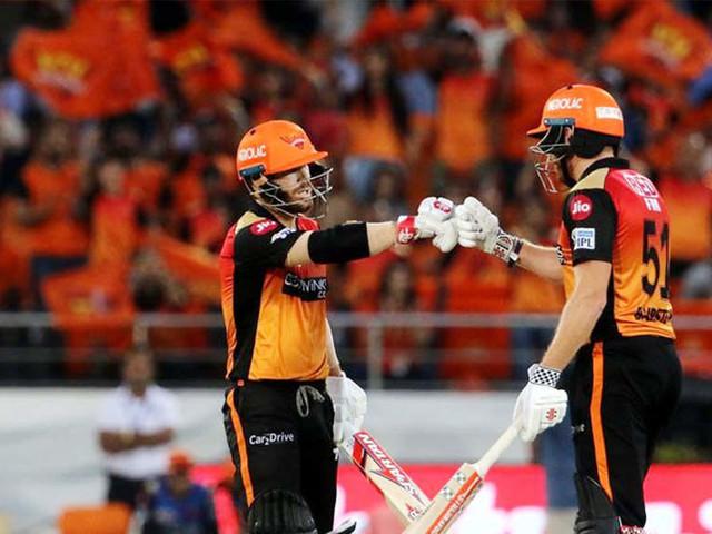 IPL: Bairstow, Warner lead SRH to 9-wicket win against KKR