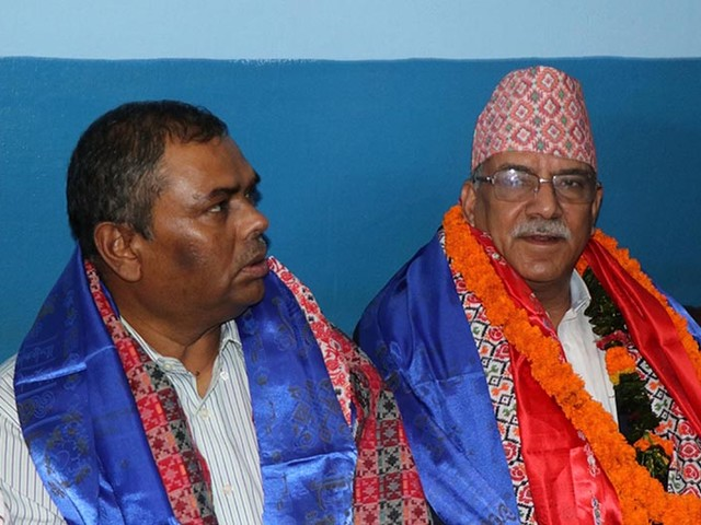 'Talks' as only medium to resolve any kind of political issues: NCP (NCP) Co-chair Dahal