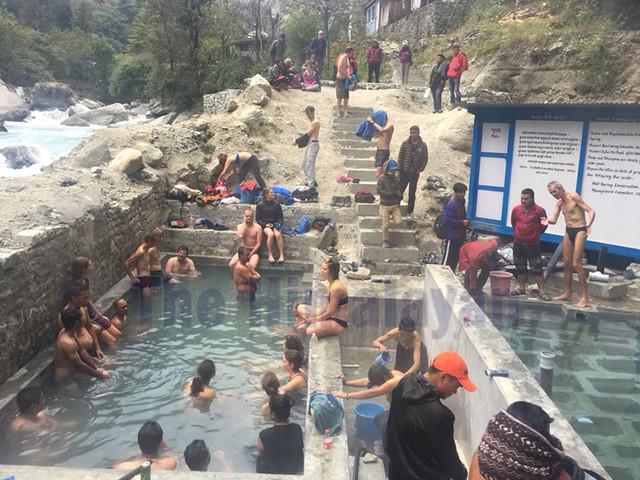Tourists arrival up in Tatopani Kunda