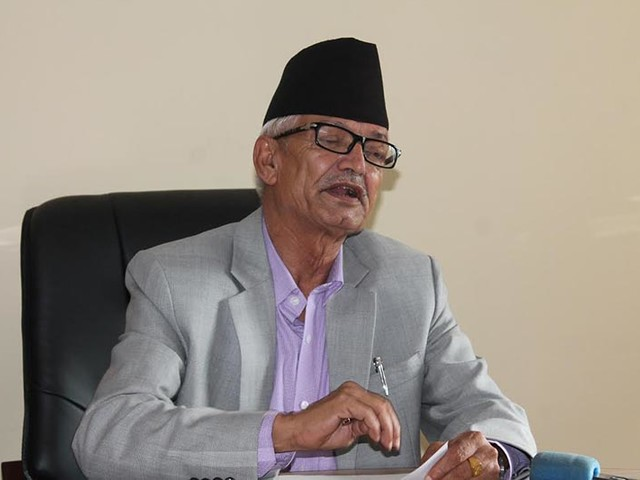 CM Poudel inspects site proposed for integrated settlement