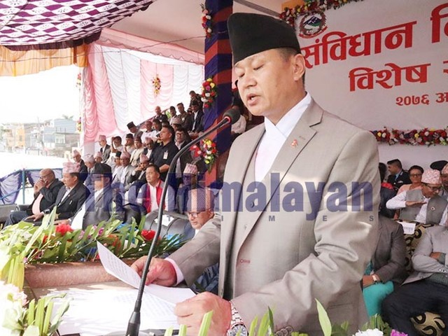 Development, prosperity only goals of govt: Chief Minister Rai
