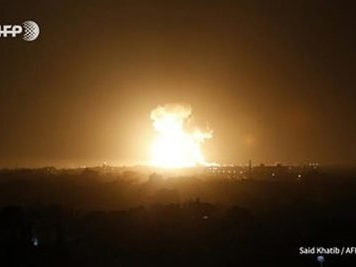 Israeli strikes kill two in Syria after Palestinian rocket barrage