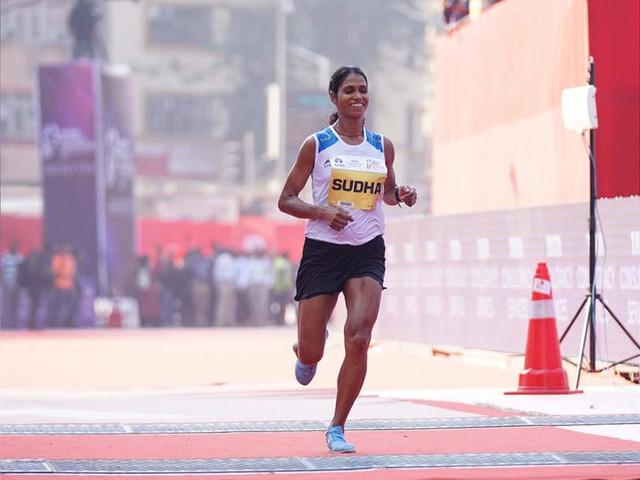 Mumbai Marathon: Srinu, Sudha win Indian Elite titles