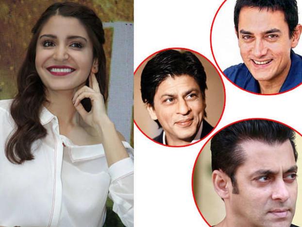 अनुष्का ने शादी में शाहरुख-आमिर को बुलाया, सलमान को नहीं किया इन्वाइट