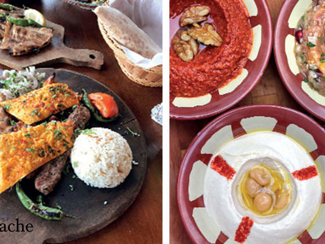 Food for the soul in the Middle East: Go for the Turkish coffee, stay for the Mezze
