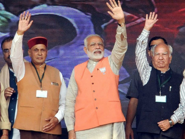 BJP to win Himachal: TOI Online-CVoter exit poll