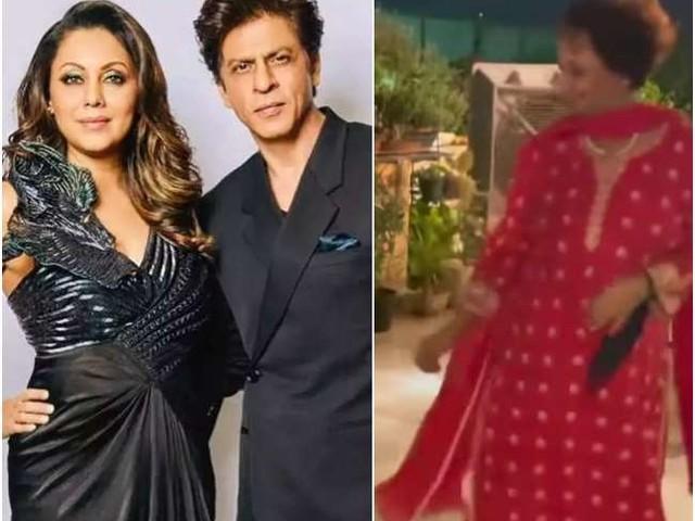VIDEO: शाहरुख खान की सासू मां ने जमकर लगाए ठुमके, गौरी खान ने पोस्ट शेयर कर लिखा 'मम्मी कूल'
