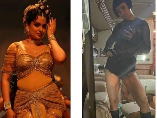 Thalavi से 'धाकड़' के लिए कंगना रनोट ने किया जबरदस्त ट्रांस्फॉर्मेशन, फोटो देख आप भी हो जाएंगे शॉक्ड