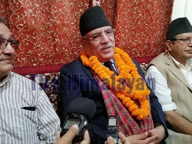 Party unhappy with government performance, says Dahal