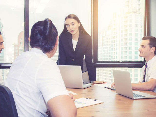 Companies push for more women in senior leadership roles