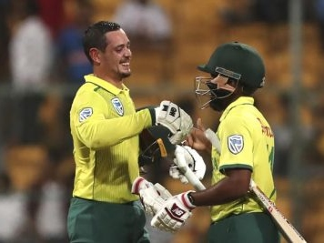 De Kock hits unbeaten 79 as South Africa beat India by 9 wickets to draw T20 series