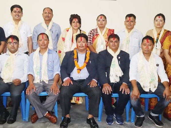 Thapa re-elected