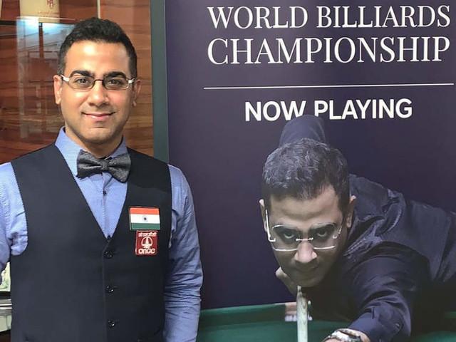 Defending champion Sourav Kothari enters World Billiards final