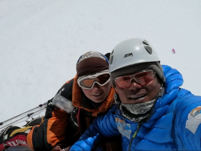 Russian climber becomes first woman to scale Mt Lhotse twice