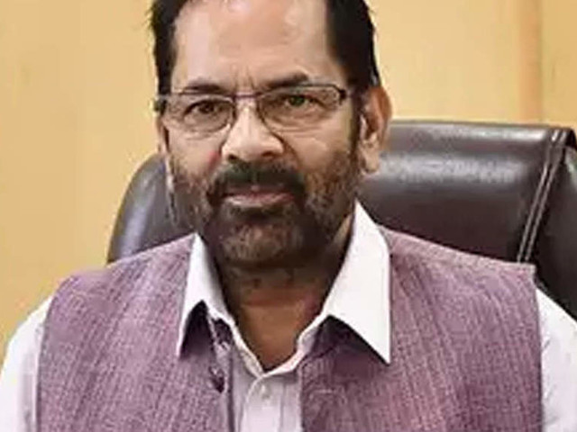 Tablighi Jamaat is a Talibani crime, not negligence: Mukhtar Abbas Naqvi