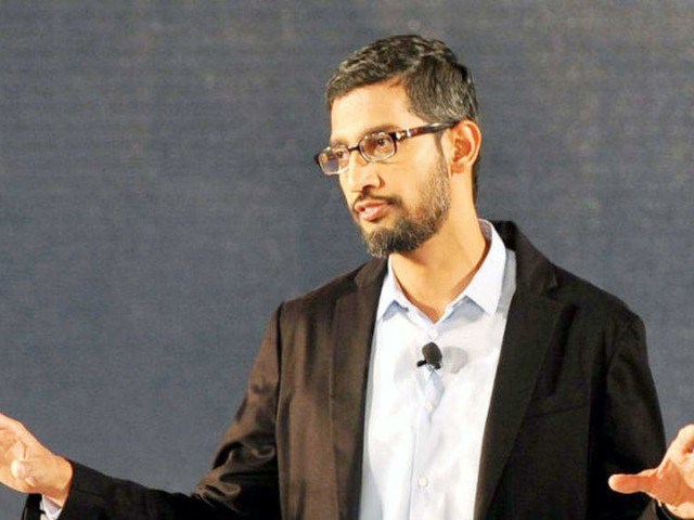 Google CEO on reports of anti-trust probe in US